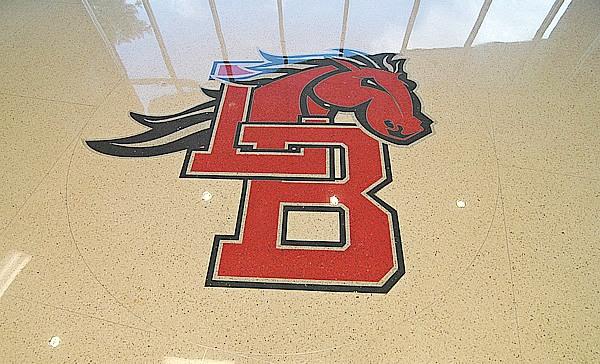 Legacy High School Terrazzo Floor