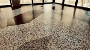 Terrazzo Flooring at Hotel Magdalena