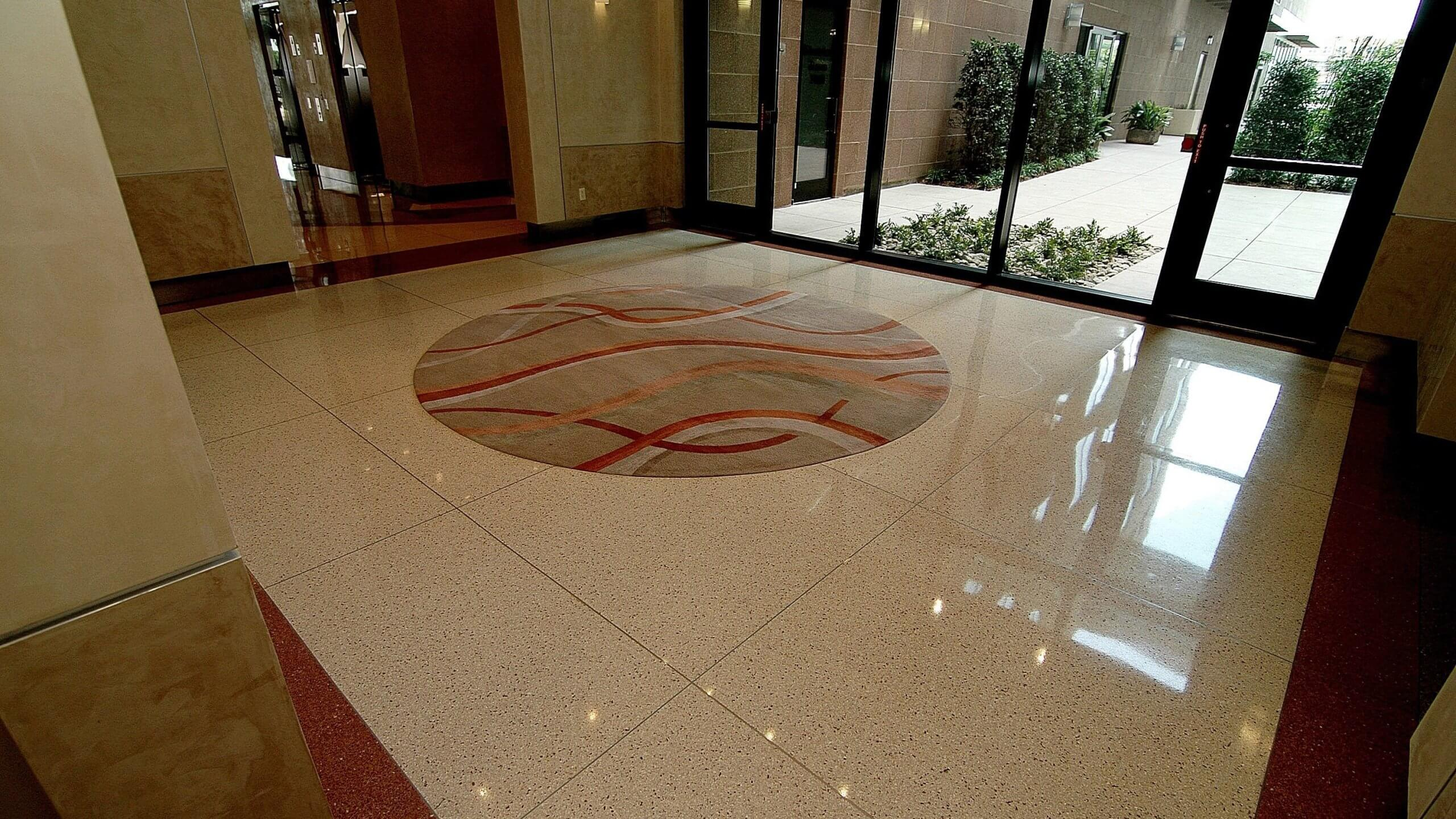 Terrazzo Flooring at a Condominium Building