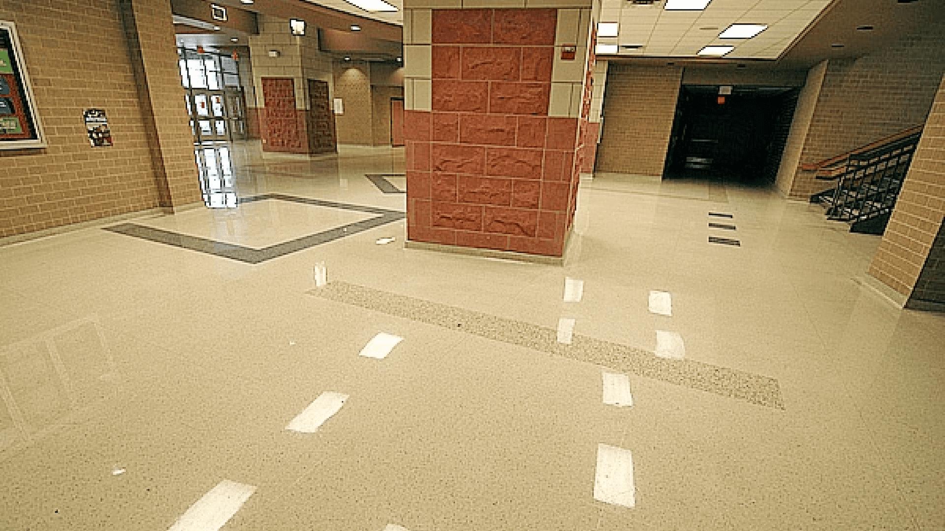 Cementitious Terrazzo at Legacy High School