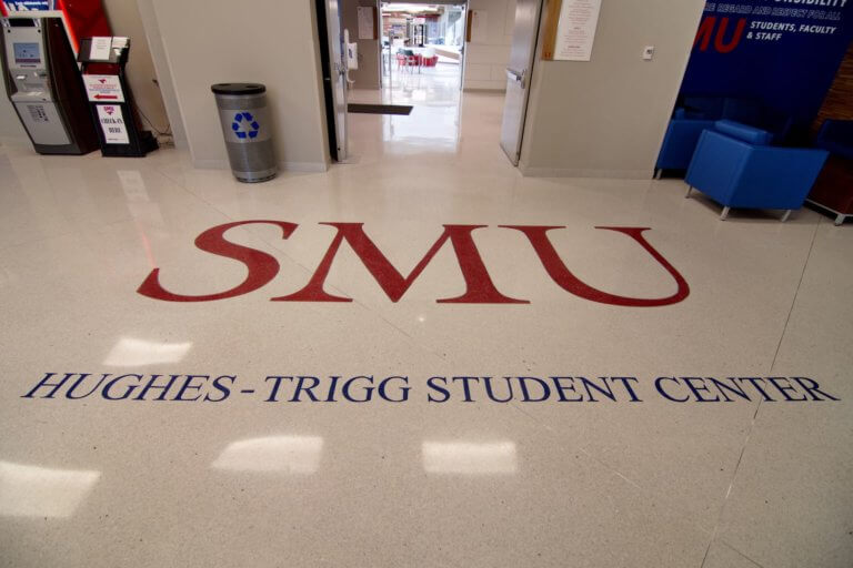 Terrazzo Flooring at Hughes-Trigg Student Center, SMU