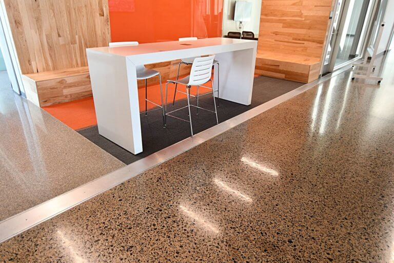 Terrazzo Flooring at UTD Engineering & Computer Science West