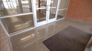 Terrazzo Floor - Bringing New Life to a Blood Donation Center Feature