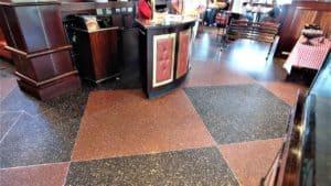Fabulous Terrazzo Flooring at Pappadeaux Seafood Kitchen restaurant
