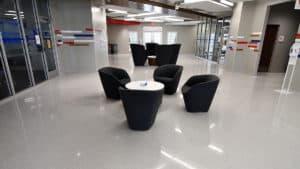 Poured and Precast Terrazzo at SMU Hughes-Trigg Student Center Feature