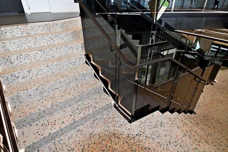 Splunk Inc. Terrazzo Staircase and Break Station Counters