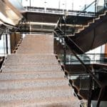 Splunk Inc. Terrazzo Staircase and Break Station Counters feature